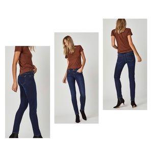 Mavi Mid-Rise Skinny Jeans